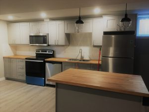 Finished Kitchen Suite
